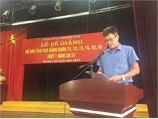 Lễ bế giảng và trao bằng tốt nghiệp cho sinh viên Cao đẳng khóa 16