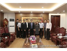 Delegates from Japan's Ministry of Healthcare, Labour and Welfare pay a working visit to Hanoi University of Industry