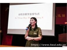 """Trao 100 suất học bổng tháng 8 chương trình """" Đào tạo kỹ sư trình độ cao của Công ty Nissan Techno Việt Nam và Công ty Pasona Tech Việt Nam"""""""