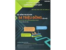 HỌC BỔNG TÀI NĂNG SAMSUNG - STP 2017
