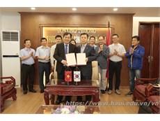 Đại học Công Nghiệp Hà Nội ký thỏa thuận thành lập Trung tâm tiếng Hàn
