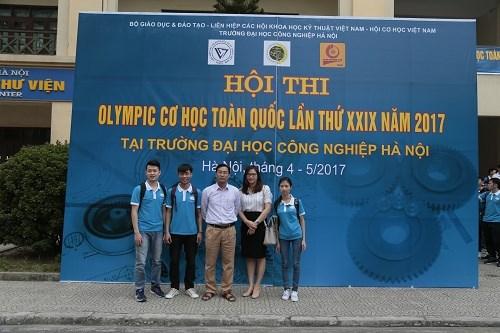 Khai mạc Olympic Cơ học toàn quốc lần thứ XXIX