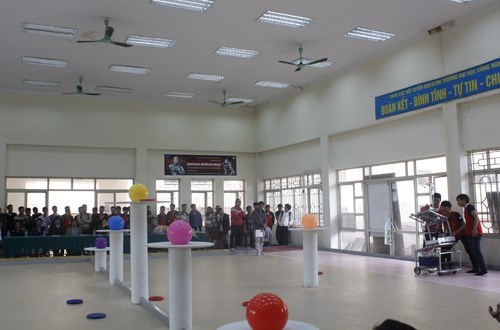 Organizing `Robocon Vietnam 2017` Competition at HaUI Level