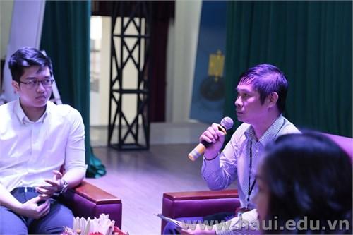 Tọa đàm `Hướng nghiệp và việc làm` cho sinh viên Trường Đại học Công nghiệp Hà Nội