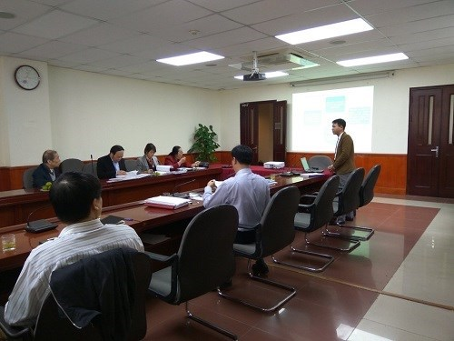 2016 Science Research Project Appraisal Meeting at Ministry of Industry and Trade Level