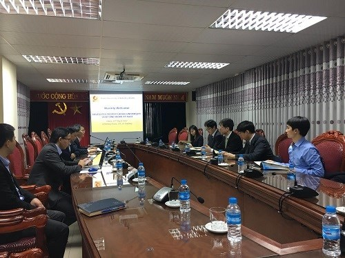 Ryukoku University visits Hanoi University of Industry