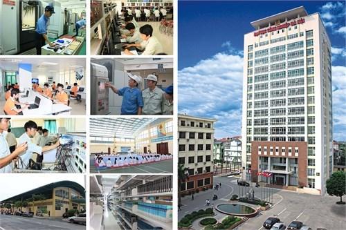 Khuôn viên trường Đại học Công nghiệp Hà Nội