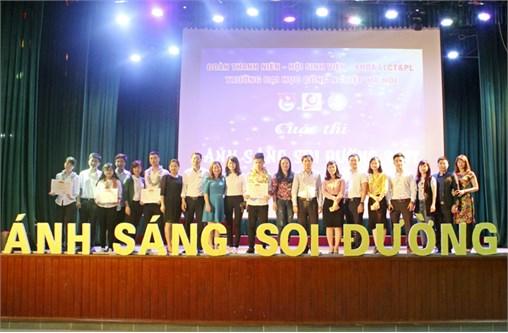 """Cuộc thi """"Ánh sáng soi đường"""" - Sân chơi trí tuệ cho toàn thể sinh viên Trường Đại học Công nghiệp Hà Nội"""