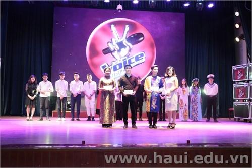 Chung khảo và trao giải thưởng cuộc thi `Giọng hát hay Học sinh sinh viên` năm 2017