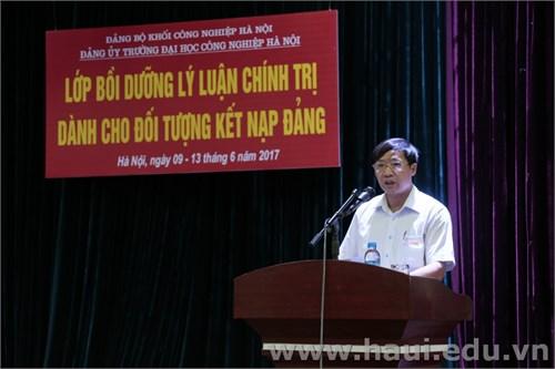 """Khai mạc lớp """"Bồi dưỡng kết nạp Đảng"""" năm 2017"""