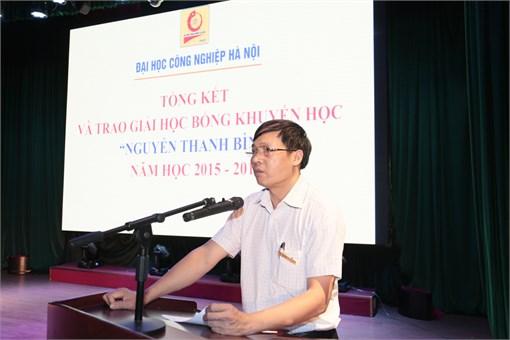 Tổng kết và trao học bổng `Nguyễn Thanh Bình` năm học 2015-2016