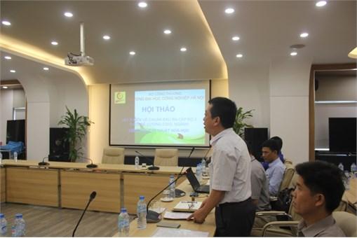 Hội thảo lấy ý kiến về chuẩn đầu ra theo đề cương CDIO ngành Công nghệ Kỹ thuật Hóa học và Công nghệ Kỹ thuật Môi trường