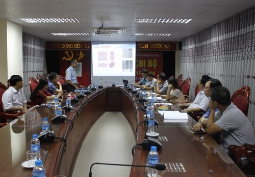 Approval of University-level research study led by MSc Duong Vu Truong