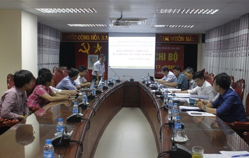 Approval of University-level research study led by Dr. Nguyen Van Thien