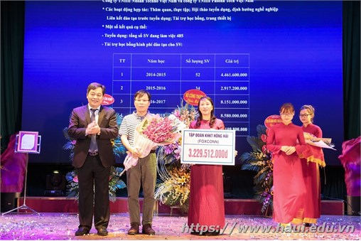 Trường Đại học Công nghiệp Hà Nội : Long trọng tổ chức Lễ công bố quyết định trao giấy chứng nhận kiểm định chất lượng giáo dục và khai giảng năm học 2017 – 2018