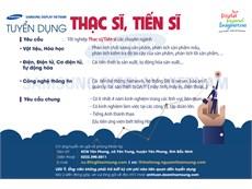 SAMSUNG DISPLAY VIETNAM TUYỂN DỤNG