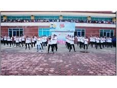 Sinh viên khoa Điện tử tưng bừng ngày hội Chào tân sinh viên khóa 12