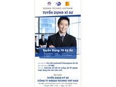 Chương trình Hội thảo cơ hội việc làm của Công ty TNHH Nissan Techno Việt Nam