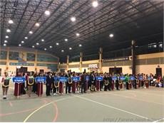 """Chung kết giải """"Khiêu vũ thể thao – Giải thể dục Aerobic sinh viên thành phố Hà Nội năm 2017"""""""