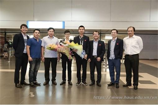 Sinh viên Đại học Công Nghiệp Hà Nội giành được Chứng chỉ Nghề xuất sắc tại cuộc thi tay nghề thế giới lần thứ 44.