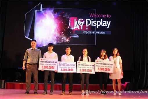 Hội thảo cơ hội thực tập, việc làm, trao học bổng của Công ty TNHH LG Display Việt Nam