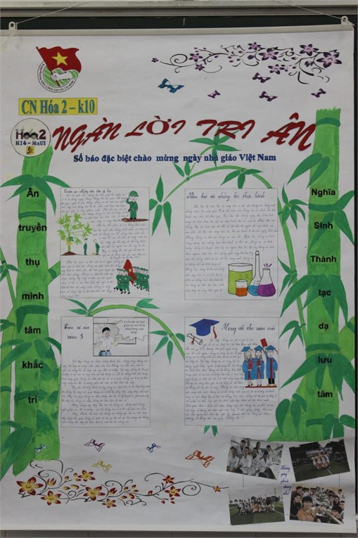 Tổng kết và trao giải Cuộc thi Làm báo tường chào mừng ngày Nhà giáo Việt Nam 20-11