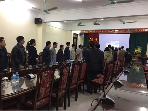 Đại hội công đoàn bộ phận Trung tâm Việt Nhật – Hồng Hải nhiệm kỳ 2018 – 2022