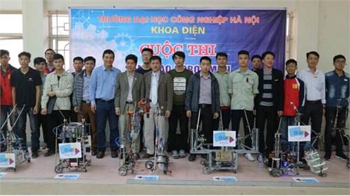 Chung kết cuộc thi sáng tạo Robocon mini khoa Điện năm 2017