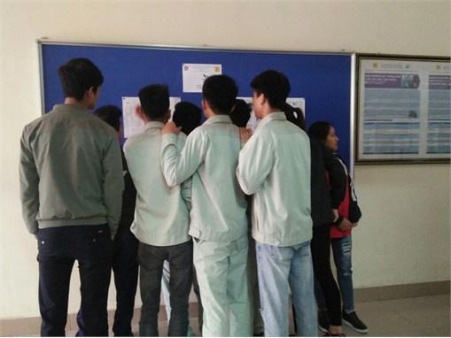 Sinh viên TT Việt Nhật hào hứng tranh tài trong cuộc thi Lắp đặt điện VJC Skills 2017