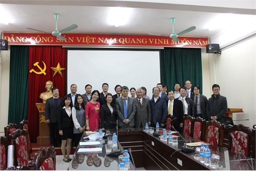 Văn phòng Văn hóa Kinh tế Đài Bắc thăm và làm việc với Trường Đại học Công nghiệp Hà Nội