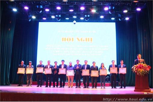 Đảng ủy khối công nghiệp Hà Nội: Hội nghị Tổng kết công tác năm 2017, triển khai nhiệm vụ năm 2018