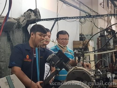 Buổi làm việc và trao đổi kinh nghiệm với các giáo viên trường Cao đẳng King Mongku't institute of technology Ladkrabang (Thái Lan)