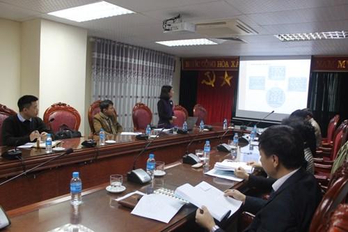 Nghiệm thu cấp cơ sở đề tài nghiên cứu khoa học Bộ Công Thương năm 2017 do TS. Lê Thị Phượng chủ nhiệm