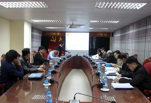 Nghiệm thu cấp cơ sở đề tài nghiên cứu khoa học Bộ Công Thương năm 2017 do PGS.TS. Phạm Văn Đông chủ nhiệm