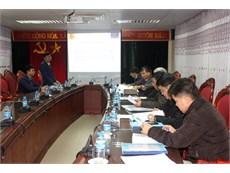 Nghiệm thu cơ sở đề tài nghiên cứu khoa học cấp Bộ Công Thương năm 2017 do TS. Nguyễn Văn Thắng chủ nhiệm