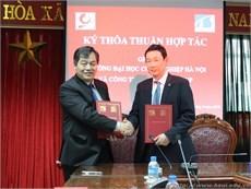 Trường Đại học Công nghiệp Hà Nội ký thỏa thuận hợp tác với Tokushin Group