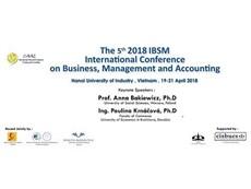 Hội thảo quốc tế về Kinh doanh, Quản trị và Kế toán