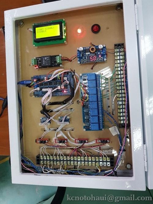 """Nghiệm thu sản phẩm đề tài cấp cơ sở """"Nghiên cứu kết nối động cơ với máy tính để đo các thông số và điều khiển các quá trình làm việc của động cơ"""" – Chủ nhiệm đề tài Ths. Vũ Minh Diễn"""