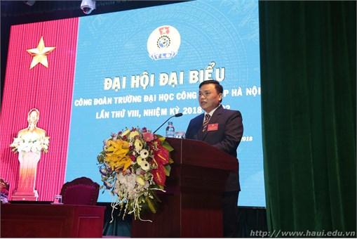 Đại hội đại biểu Công đoàn Trường Đại học Công nghiệp Hà Nội lần thứ VIII, Nhiệm kỳ 2018- 2022