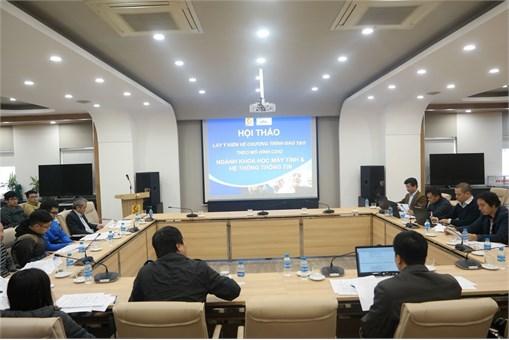 Hội thảo về lấy ý kiến chương trình khung ngành Khoa học máy tính và Hệ thống thông tin