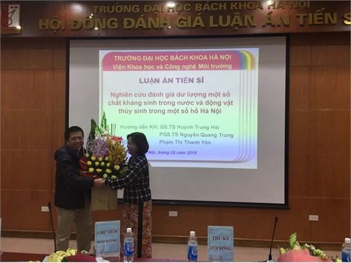 Lễ bảo vệ luận án tiến sĩ của Giảng viên - NCS Phạm Thị Thanh Yên