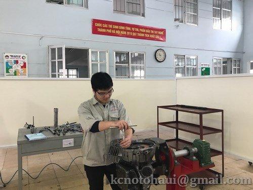 Khoa Công nghệ ô tô tham dự kỳ thi tay nghề thành phố Hà Nội năm 2018