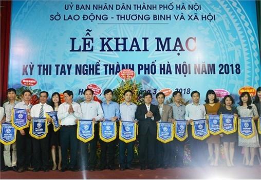 Khai mạc Kỳ thi tay nghề Thành phố Hà Nội năm 2018