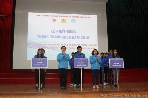 Sôi động Lễ ra quân Tháng Thanh niên năm 2018