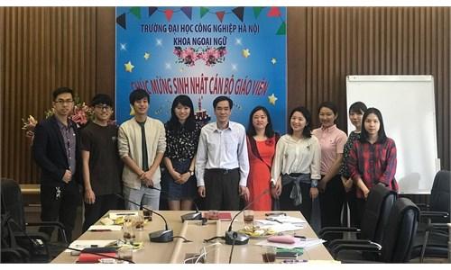 Gặp mặt thực tập sinh Nhật Bản tại Khoa Ngoại Ngữ, Trường ĐHCN Hà Nội
