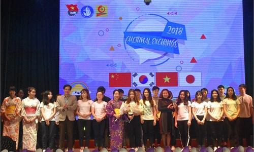 Chương trình giao lưu văn hóa Việt - Hàn - Trung - Nhật năm 2018