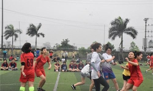 Giải bóng đá nữ Khoa Ngoại ngữ 2018