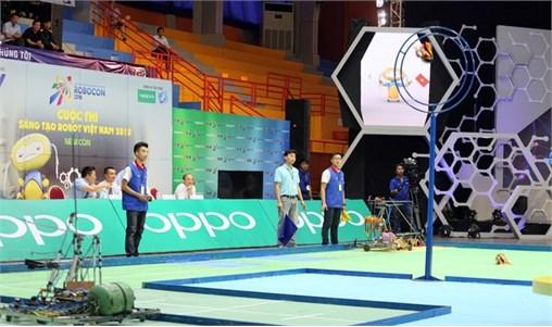 4 đội Robocon Đại học Công nghiệp Hà Nội vào chung kết toàn quốc 2018