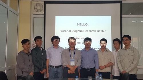 Trao đổi, hợp tác giữa khoa Cơ khí - Trường Đại học Công Nghiệp Hà Nội và Trường Đại học HanYang Hàn Quốc
