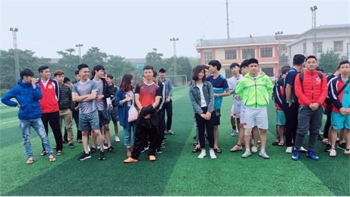 Chung kết và trao giải bóng đá nam HSSV TT Việt Nhật